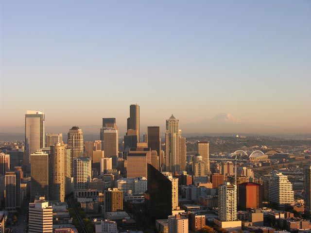 Seattle Skyline - Islam in Seattle