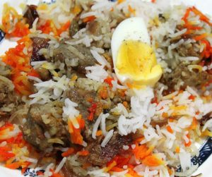 briyani rice india pakistan