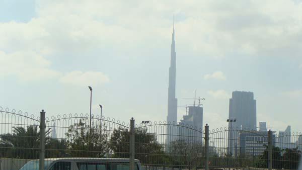 burj al-kalifa skyline
