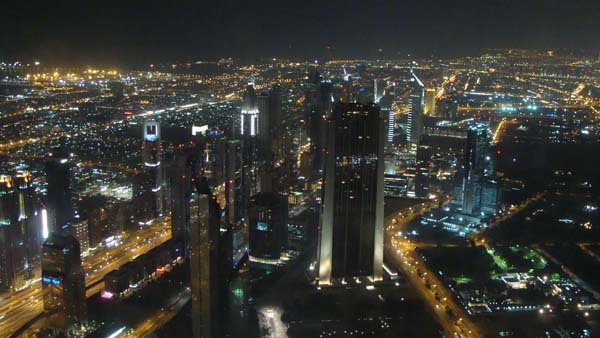 dubai Sky line views