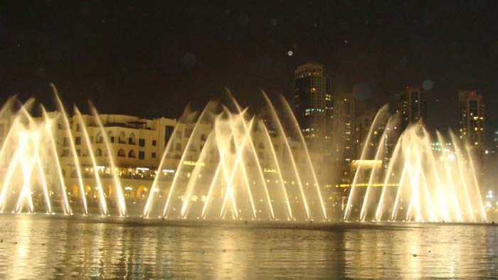 Dubai music fountain things to do sightseeing