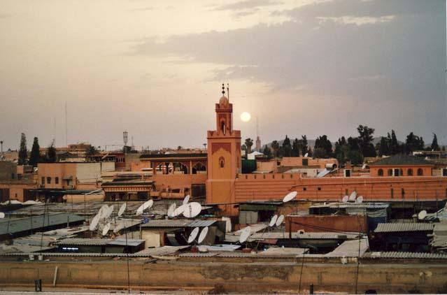 Jemaa el-fna, Marrakech Morocco-africa-mediina-quarter-1452082