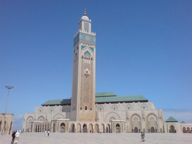 Hassan II Mosque in Casablanca Morocco