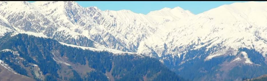 Kaghan Valley Mountains Scenery