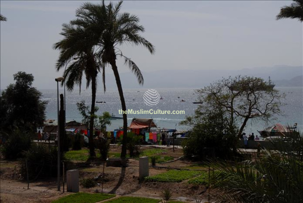 Gulf of Aqaba Jordan coast